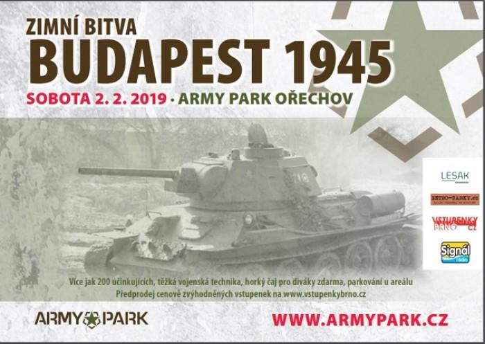 Zimní bitva - Budapest 1945 / Ořechov u Brna