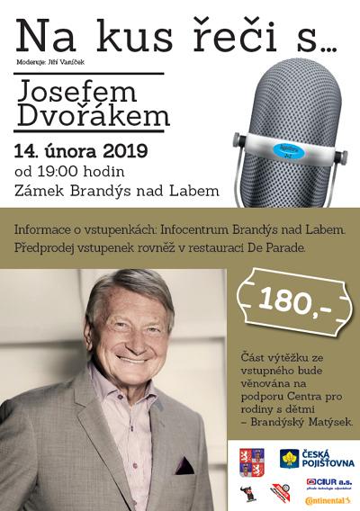 14.02.2019 - Na kus řeči s... Josefem Dvořákem / Brandýs nad Labem