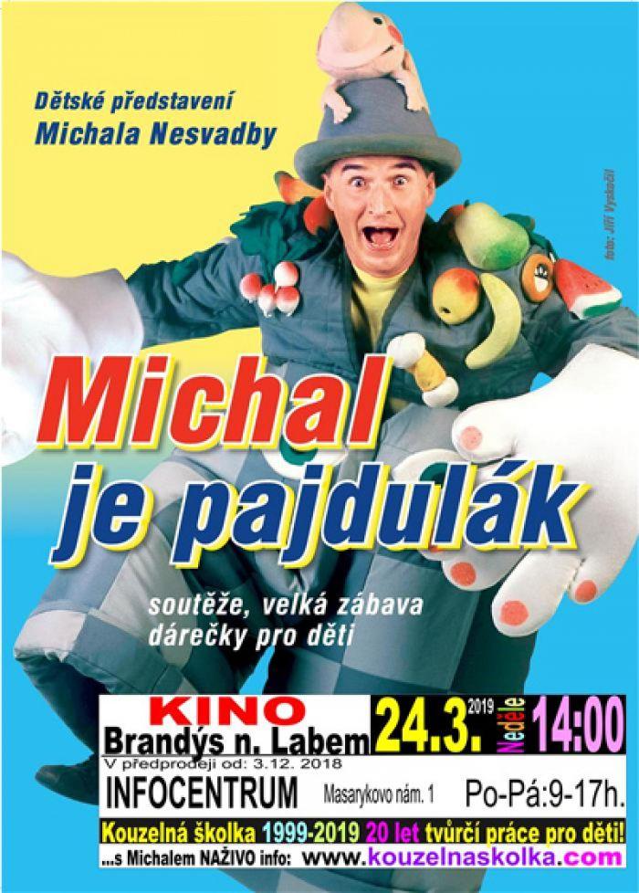 24.03.2019 - Kouzelná školka - Michal je pajdulák / Brandýs nad Labem