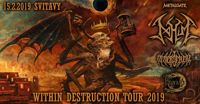 15.02.2019 - Within Destruction tour 2019 - Svitavy