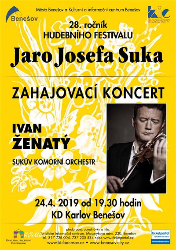 Jaro Josefa Suka - Zahajovací koncert / Benešov