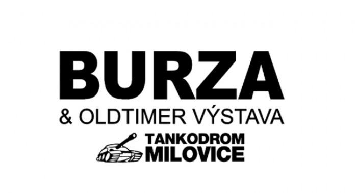 Burza a Oldtimer výstava tankodrom - Milovice
