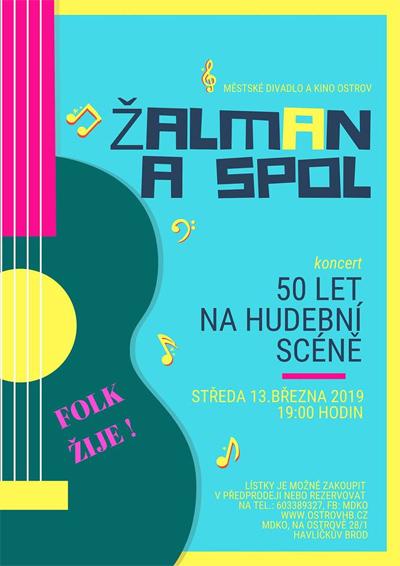 13.03.2019 - Žalman a spol - koncert / Havlíčkův Brod
