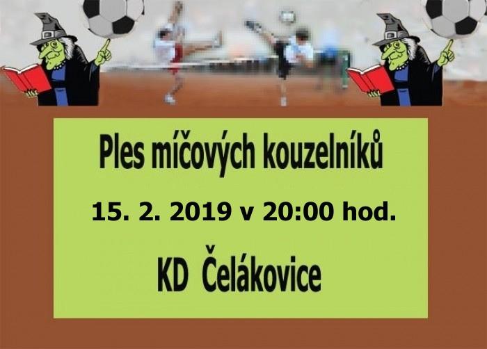 15.02.2019 - Ples míčových kouzelníků - Čelákovice