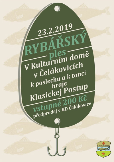 23.02.2019 - Rybářský ples 2019 - Čelákovice