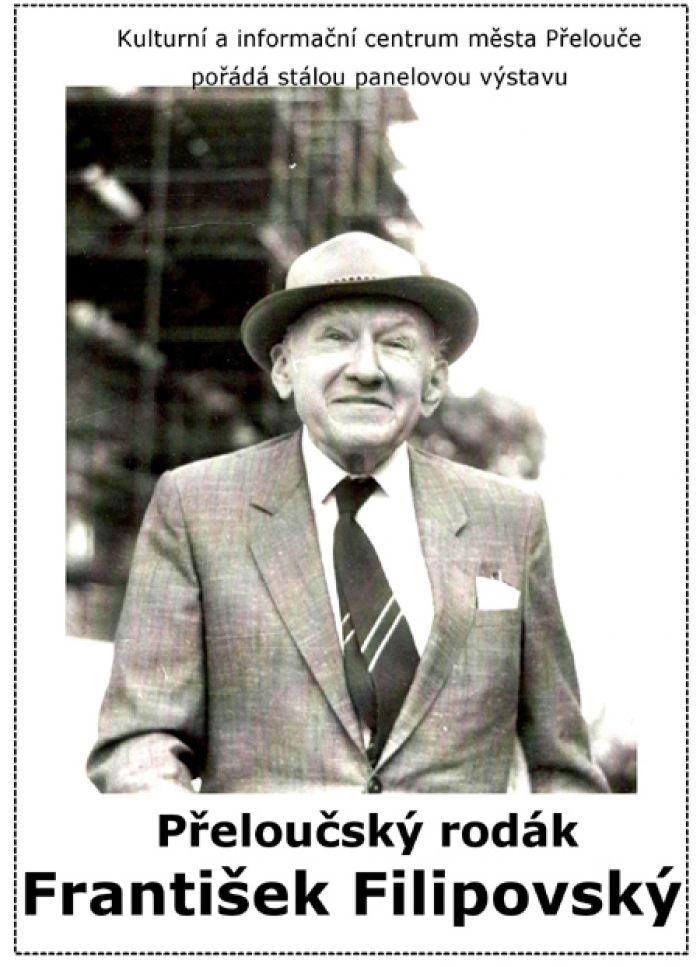 Přeloučský rodák František Filipovský - Výstava / Přelouč