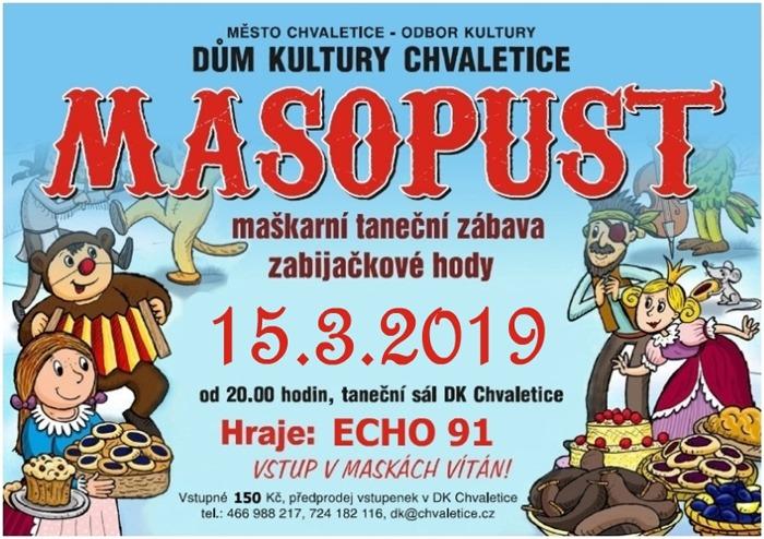 15.03.2019 - Masopust / Chvaletice