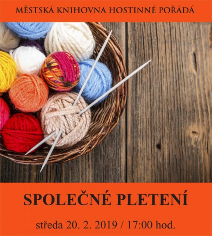 Společné pletení - Hostinné