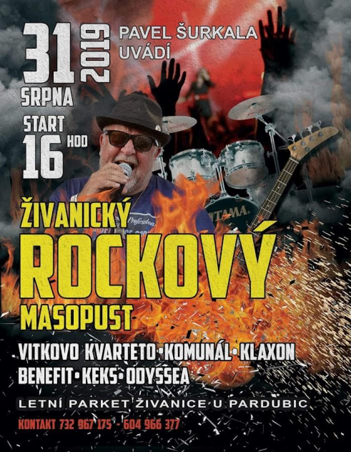 Živanický rockový masopust  2019