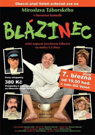 Miroslav Táborský - BLÁZINEC / Veleň