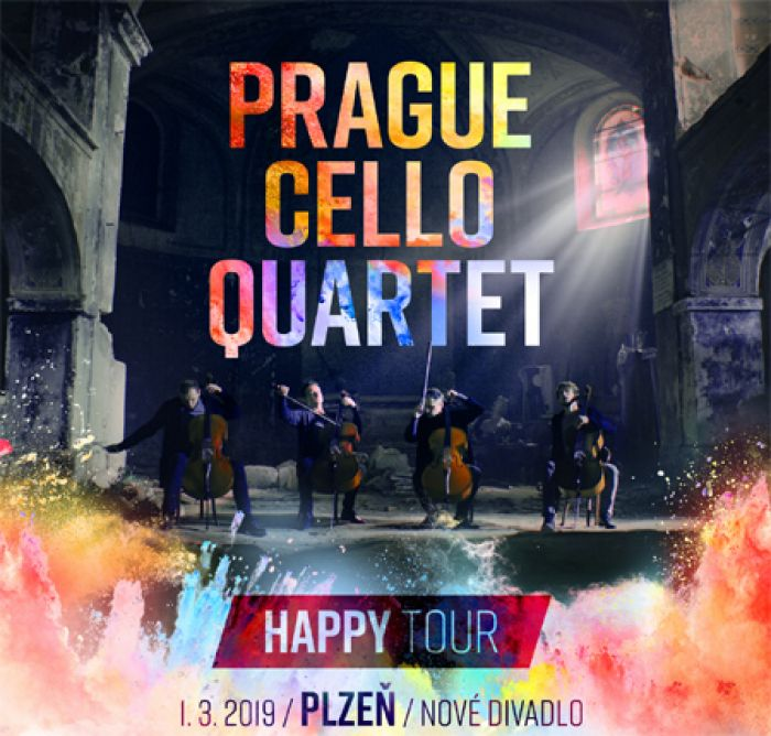 Prague Cello Quartet HAPPY Tour - Plzeň