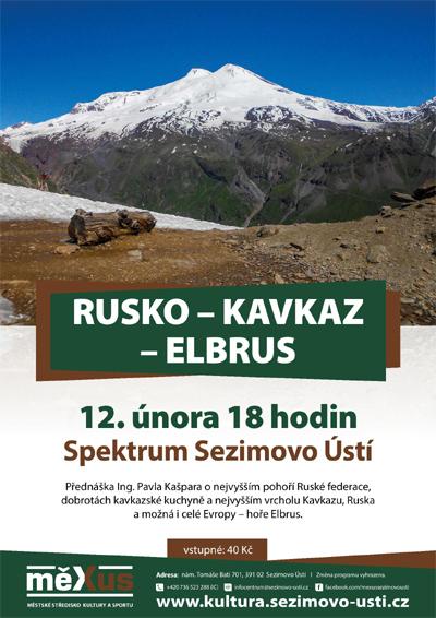 12.02.2019 - Rusko - Kavkaz - Elbrus / Sezimovo Ústí