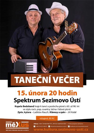 15.02.2019 - Taneční večer - Sezimovo Ústí