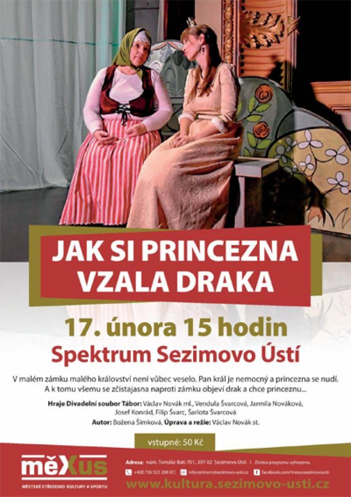 17.02.2019 - Jak si princezna vzala draka - Pro děti / Sezimovo Ústí