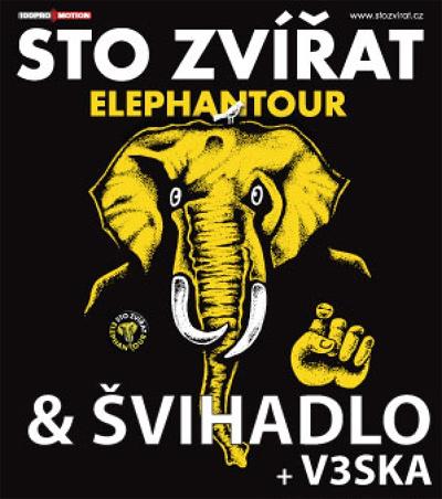 16.02.2019 - STO ZVÍŘAT - Koncert / Plzeň