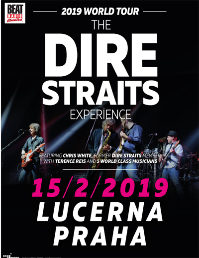 15.02.2019 - The Dire Straits Experience - Koncert / Praha