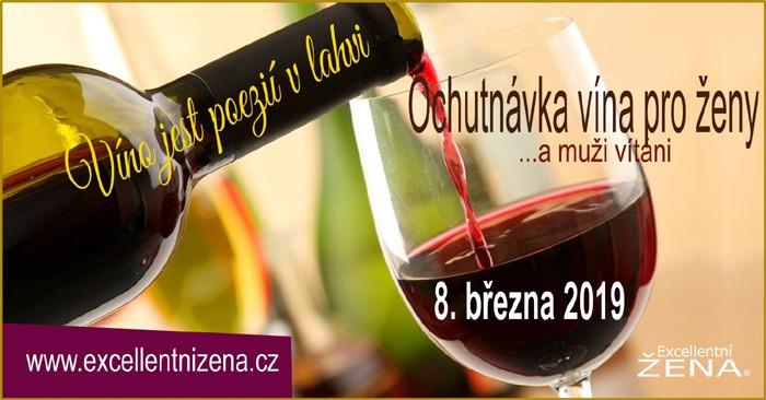 Ochutnávka vína (nejen) pro ženy - Plzeň