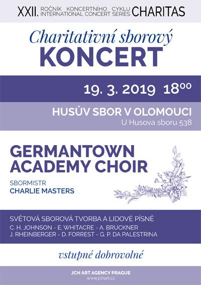 19.03.2019 - Charitativní sborový koncert - Olomouc