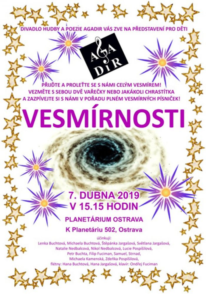 07.04.2019 - Vesmírnosti - Pro děti / Ostrava