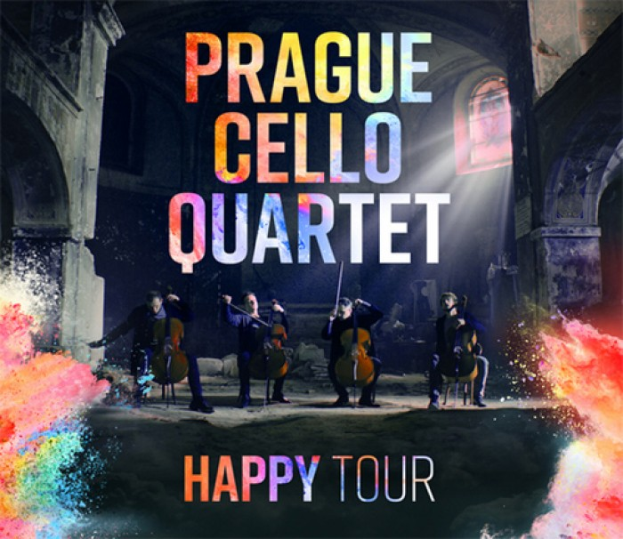 Prague Cello Quartet - HAPPY Tour - Praha