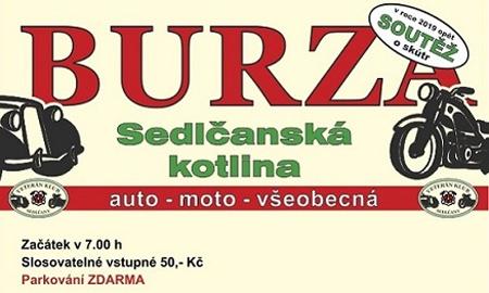 28.04.2019 - Auto - Moto Burza Sedlčany 2019