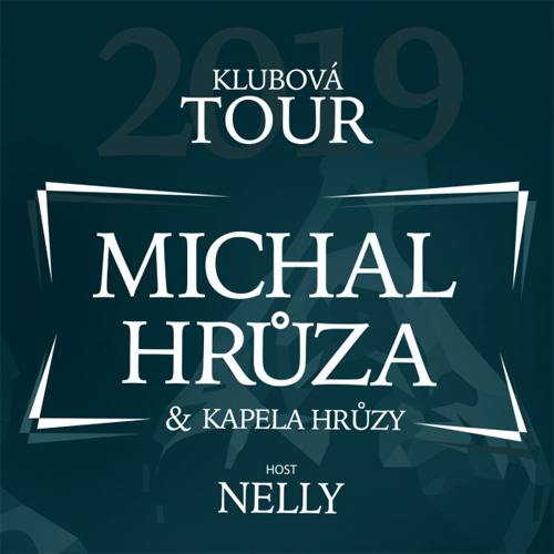 12.04.2019 - MICHAL HRŮZA - Klubová tour / Třebíč