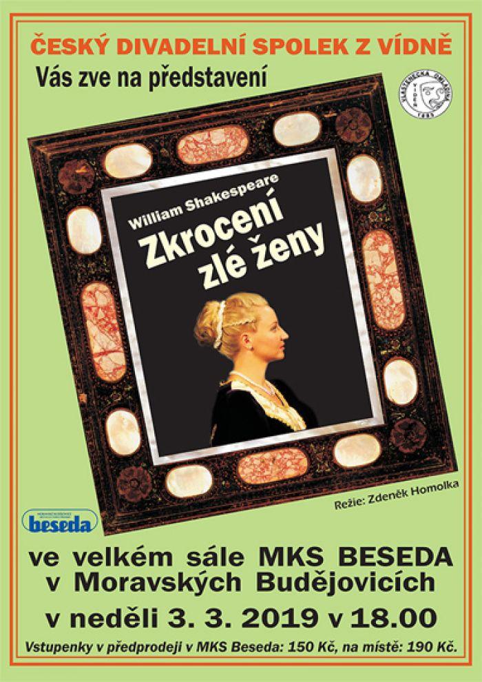 Zkrocení zlé ženy - Divadlo / Moravské Budějovice