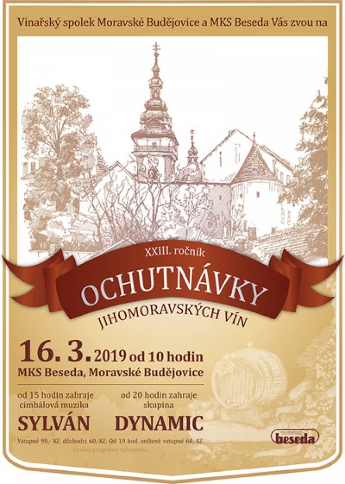 16.03.2019 - XXIII. ročník Ochutnávky jihomoravských vín / Moravské Budějovice