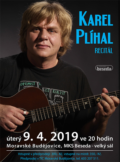 09.04.2019 - Karel Plíhal - Koncert / Moravské Budějovice
