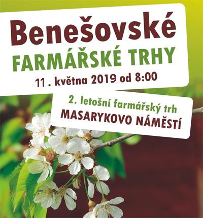 FARMÁŘSKÉ TRHY 2019 - Benešov