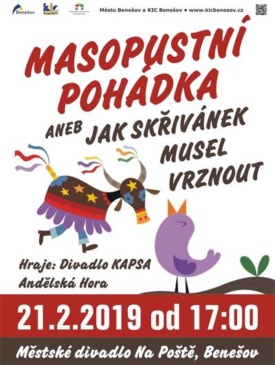 21.02.2019 - Masopustní pohádka - Benešov