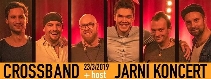 23.03.2019 - Crossband - jarní koncert + host / Nymburk
