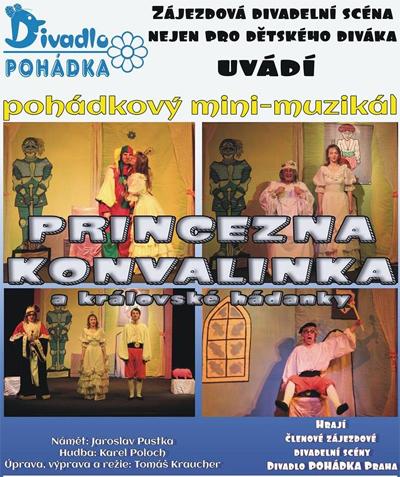 Princezna Konvalinka a královské hádanky / Beroun