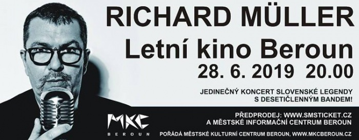 28.06.2019 - Richard Müller & band - Koncert / Beroun