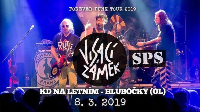 Visací zámek & SPS - Forever punk tour 2019 / Hlubočky