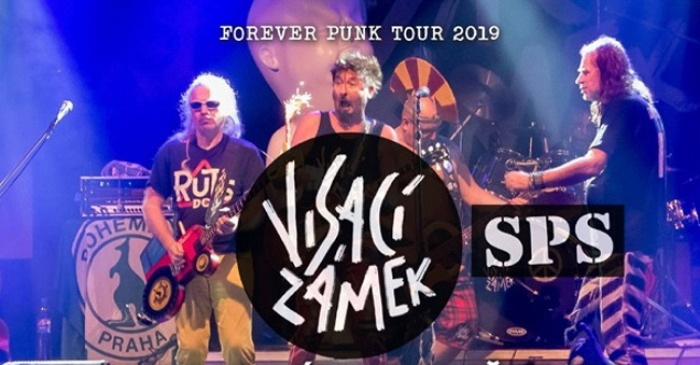 22.03.2019 - Visací zámek & SPS - Forever punk tour 2019 / Bělá u Ledče