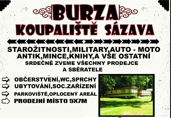 Burza - Sázava