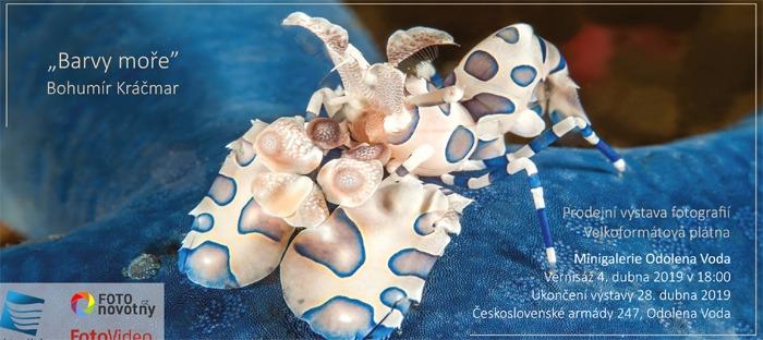 Bohumír Kráčmar: Barvy moře - Výstava / Odolena Voda