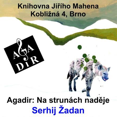11.04.2019 - Serhij Žadan: Na strunách naděje - Brno