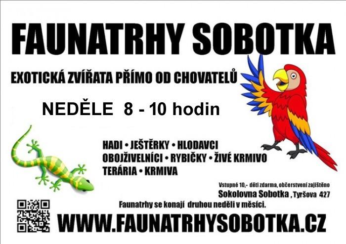 FAUNA TRHY - Sobotka u Jičína