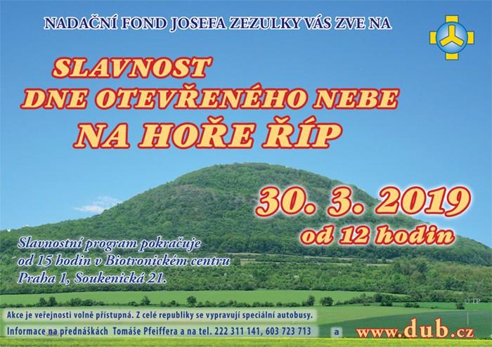30.03.2019 - Slavnost dne otevřeného nebe - Krabčice