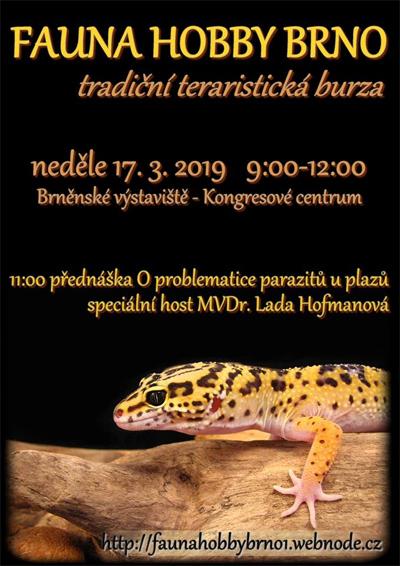 17.03.2019 - Fauna hobby 2019 -  Brno