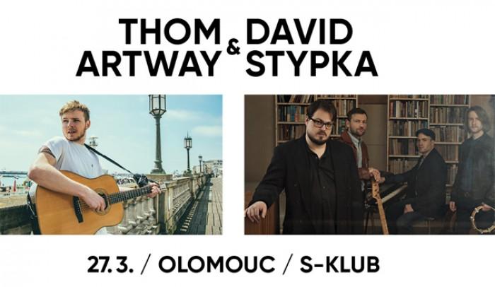27.03.2019 - Thom Artway & David Stypka - Koncert / Olomouc