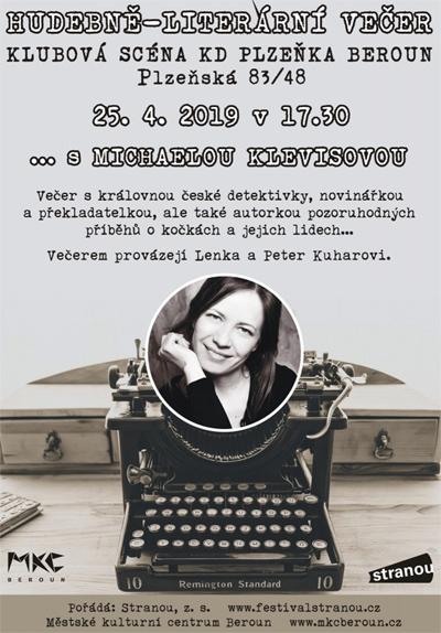 Literární večer s Michaelou Klevisovou / Beroun