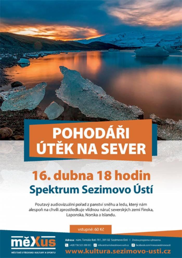 16.04.2019 - Pohodáři - Útěk na sever / Sezimovo Ústí