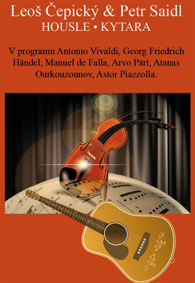 21.03.2019 - Leoš Čepický & Petr Saidl - Koncert / Chrudim