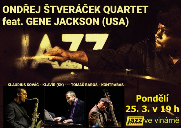 Jazz ve vinárně: Quartet Gene Jackson / Chrudim