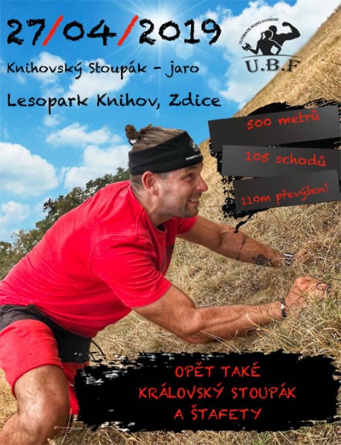 Knihovský Stoupák - běžecký závod do vrchu / Zdice
