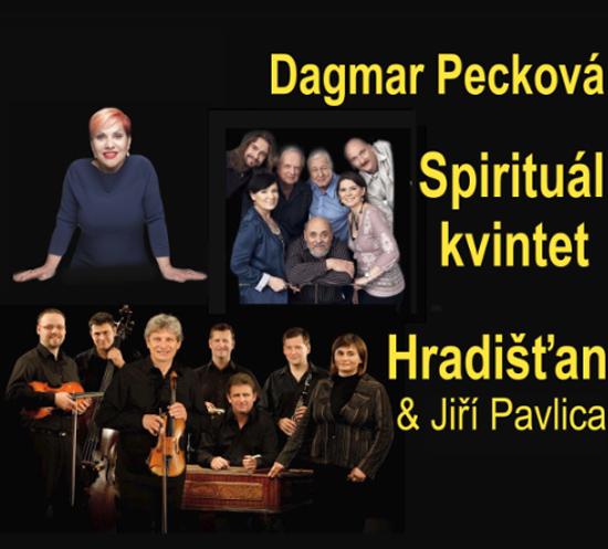Dagmar Pecková, Hradišťan, Spirituál kvintet - Zlín