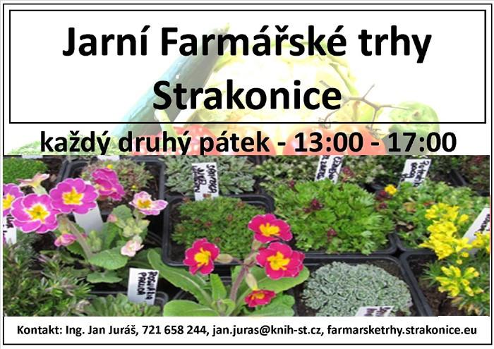 26.04.2019 - Jarní farmářské trhy 2019 - Strakonice